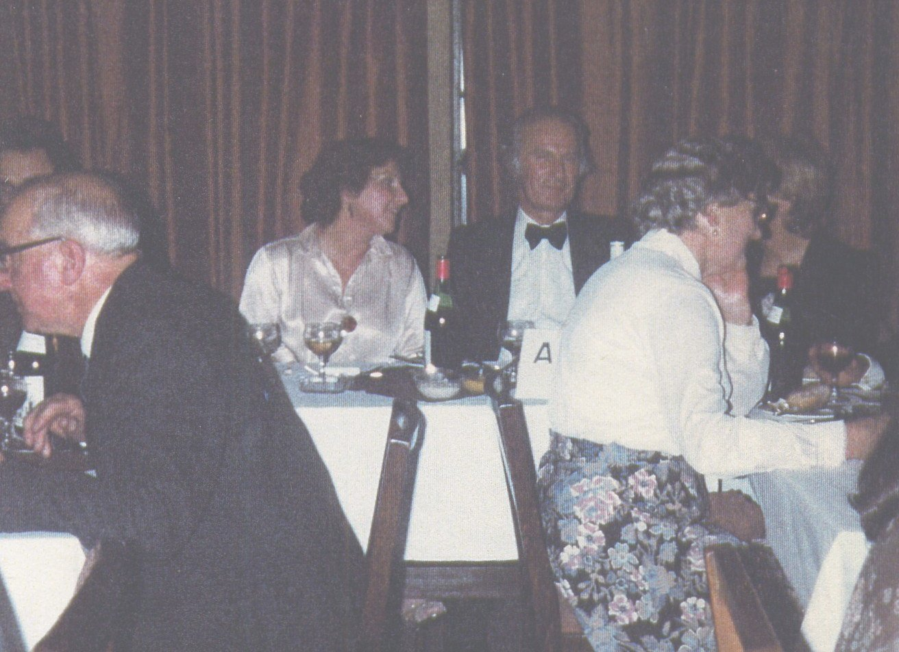 Norman Whyte at the 25th anniversary dinner