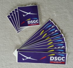 DSGC car stickers